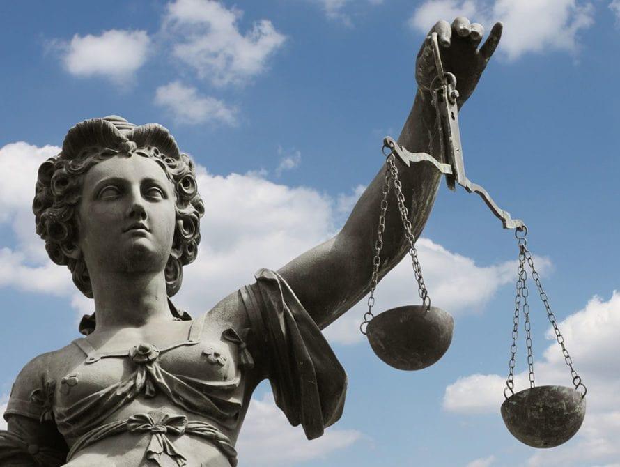 Lady justice Adams County Bail Bonds